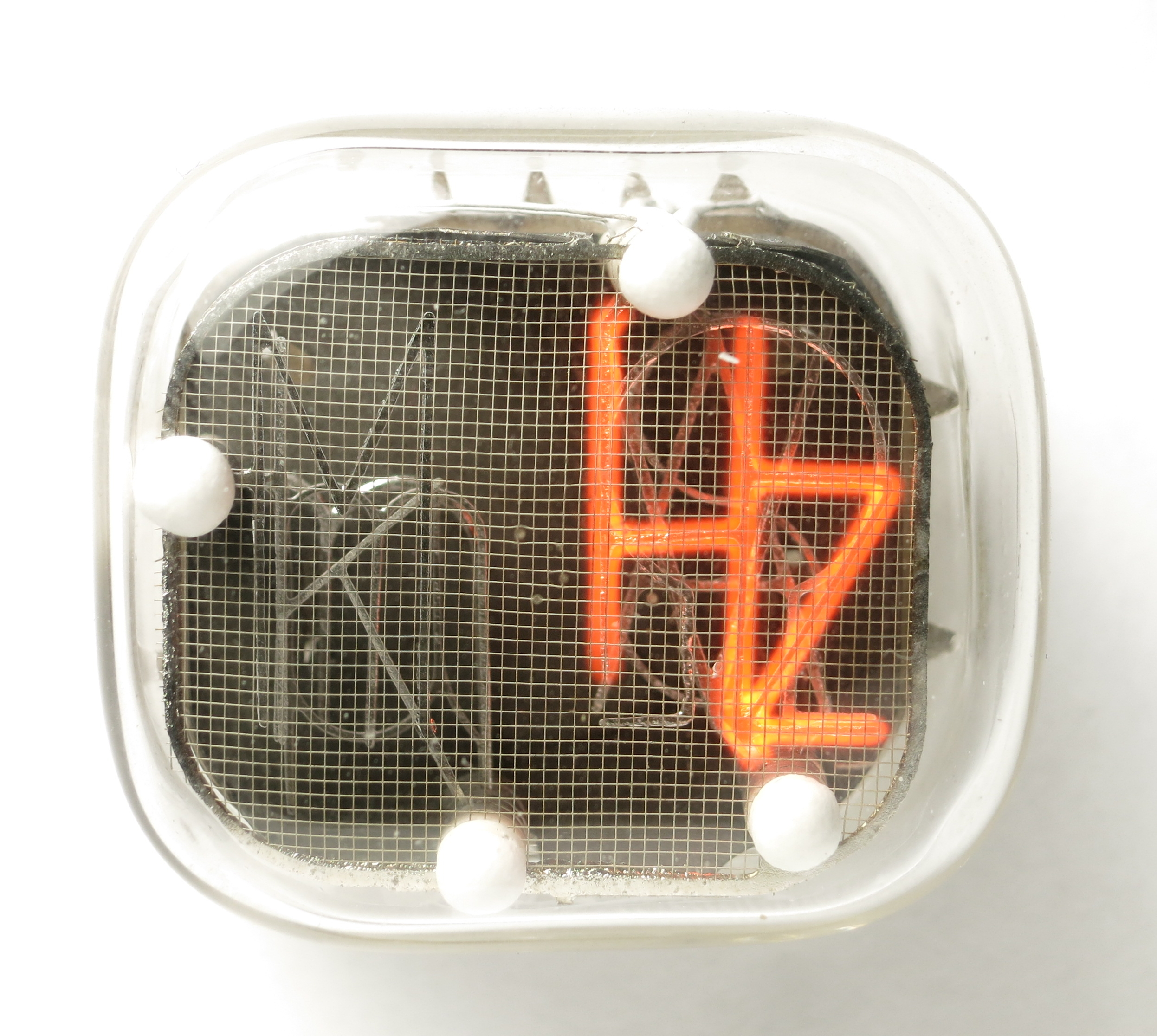 The symbol 'Hz' of the IN-XX