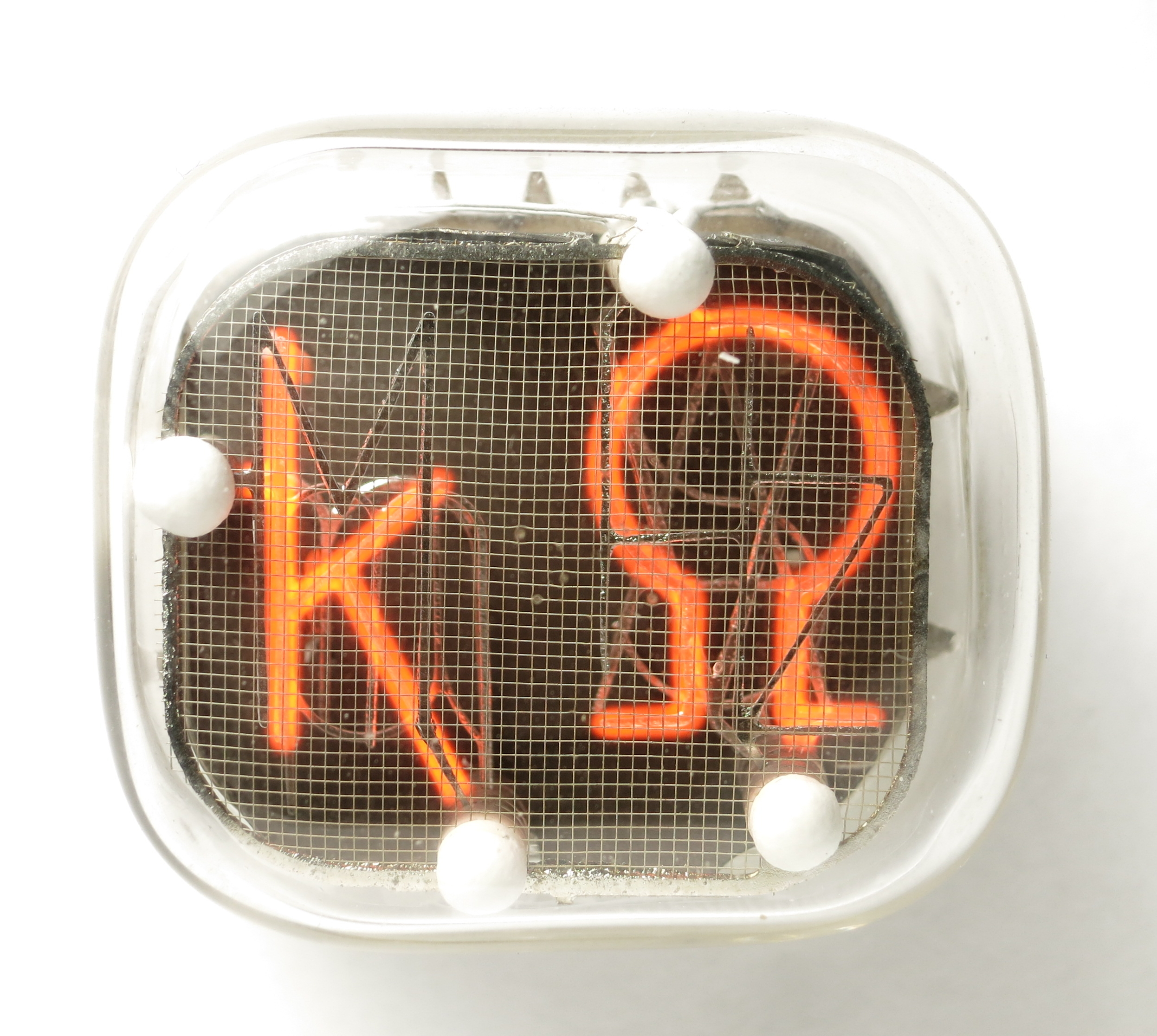 The combined symbol 'kΩ' of the IN-XX